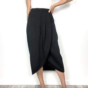 St. John Basics by Marie Gray Wool Tulip Skirt